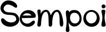 Sempoi Font