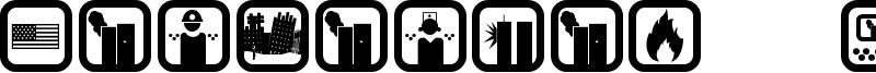 September 11 Icon Font
