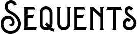 Sequents Font