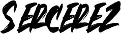 Sercerez Font