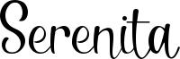 Serenita Font