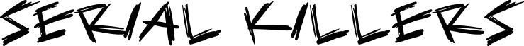 Serial Killers Font