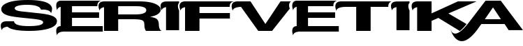 Serifvetika Font