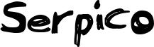 Serpico Font