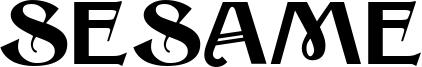 Sesame Font