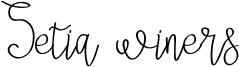 Setia winers Font