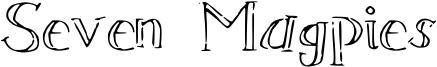 Seven Magpies Font