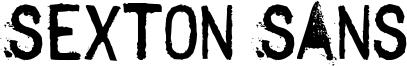 Sexton Sans Font