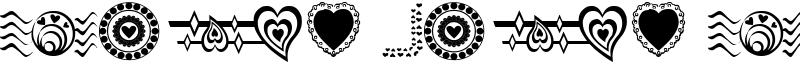 Sexy Rexy Smitten Font