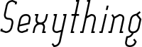 Sexything_Regular_Italic.ttf