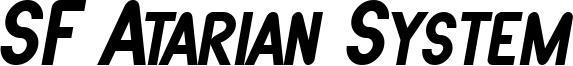 SF Atarian System Bold Italic.ttf