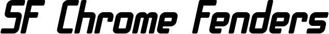 SF Chrome Fenders Bold Oblique.ttf