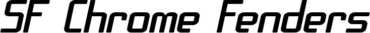SF Chrome Fenders Extended Oblique.ttf