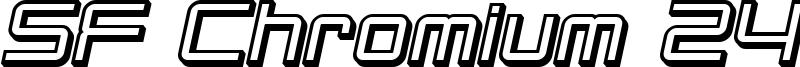 SF Chromium 24 Bold Oblique.ttf