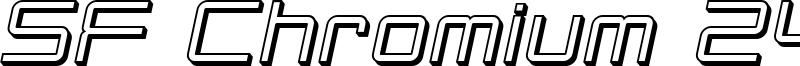 SF Chromium 24 Oblique.ttf