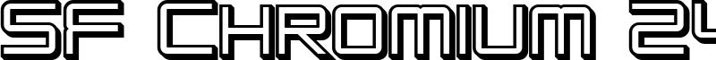 SF Chromium 24 SC Bold.ttf