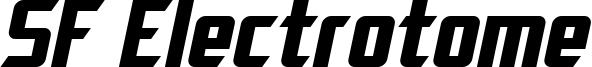 SF Electrotome Bold Oblique.ttf