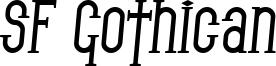SF Gothican Bold Italic.ttf
