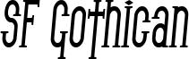 SF Gothican Condensed Bold Italic.ttf