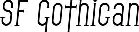 SF Gothican Italic.ttf