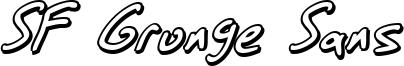 SF Grunge Sans Shadow Italic.ttf