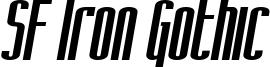 SF Iron Gothic Oblique.ttf