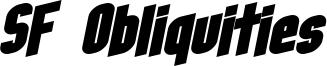 SF Obliquities Bold.ttf