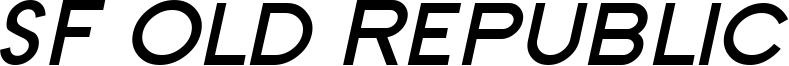 SF Old Republic SC Bold Italic.ttf