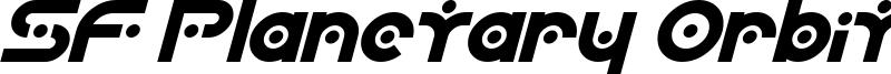 SF Planetary Orbiter Bold Italic.ttf