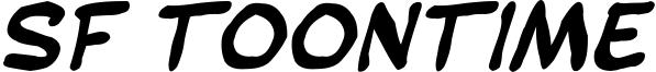 SF Toontime Blotch Bold Italic.ttf
