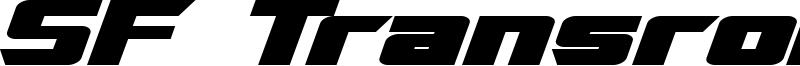 SF TransRobotics Extended Bold Italic.ttf