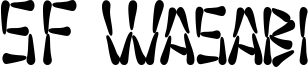 SF Wasabi Condensed Bold.ttf