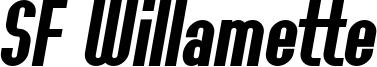 SF Willamette Bold Italic.ttf