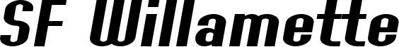 SF Willamette Extended Italic.ttf