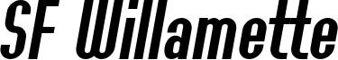 SF Willamette Italic.ttf