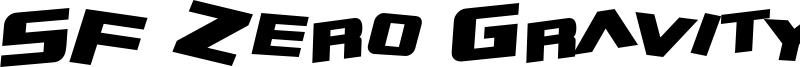 SF Zero Gravity Bold Italic.ttf