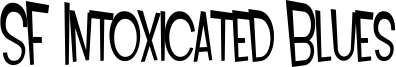 SF Intoxicated Blues Font