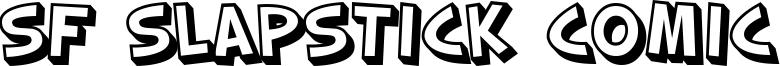 SF Slapstick Comic Font