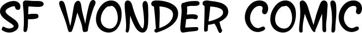 SF Wonder Comic Font