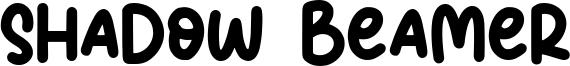 Shadow Beamer Font