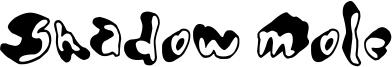 Shadow Mole Font