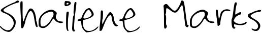 Shailene Marks Font