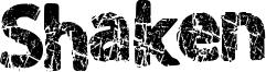 Shaken Font