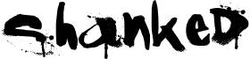 Shanked Font