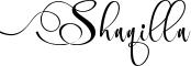 Shaqilla Font