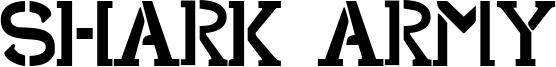 Shark Army Font