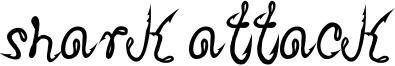 Shark Attack Font