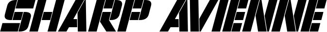 Sharp Avienne Italic.otf