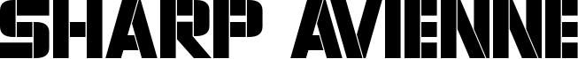 Sharp Avienne Font