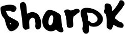 SharpK Font